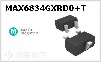 MAX6834GXRD0+T