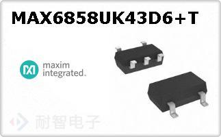 MAX6858UK43D6+T