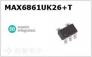 MAX6861UK26+T