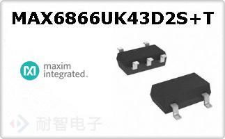 MAX6866UK43D2S+T