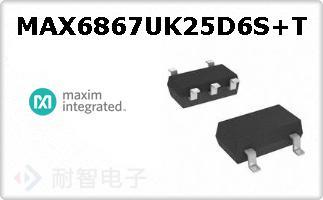MAX6867UK25D6S+T