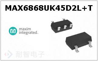 MAX6868UK45D2L+T