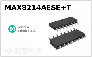 MAX8214AESE+T