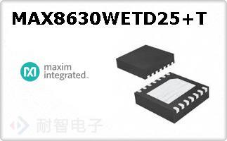 MAX8630WETD25+T