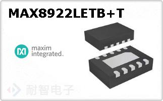 MAX8922LETB+T