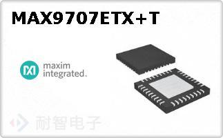 MAX9707ETX+T