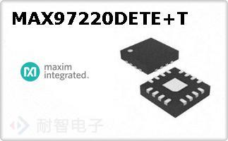 MAX97220DETE+T