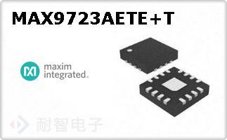 MAX9723AETE+T