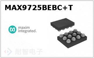 MAX9725BEBC+T