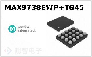 MAX9738EWP+TG45