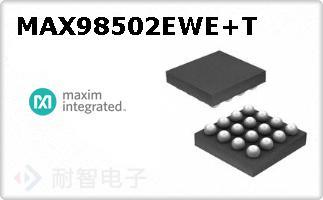 MAX98502EWE+T