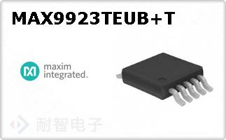MAX9923TEUB+T