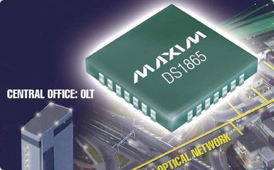 美信公司推出医用级可编程非易失存储器芯片